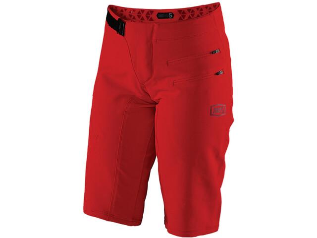 100% Airmatic Korte Broek Dames, red